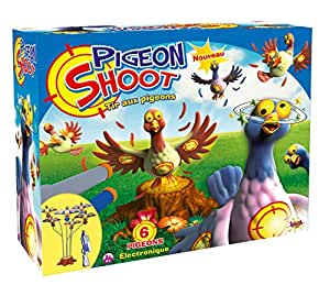 splash toys 56101 shooting game pigeon shoot 6 pigeons toys games. Black Bedroom Furniture Sets. Home Design Ideas