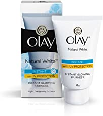 Olay Natural White Light Instant Glowing Fairness, 40g