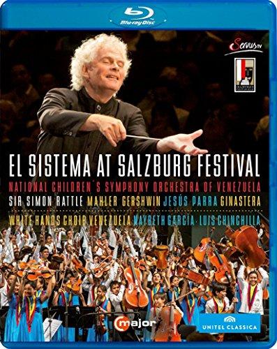 El Sistema at Salzburg Festival 2013 (Sir Simon Rattle) [Blu-ray] White Usa-elektronik
