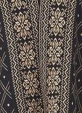 Kalt Women's Cotton Full Sleeves Long Open Shrug (Multicolour, XXL)
