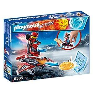Playmobil 6835 - Fire-Robot con Space-Jet Lanciadischi, Multicolore 2 spesavip