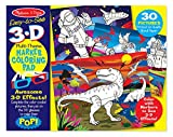 #10: Melissa & Doug Easy-to-See 3-D Kids' Coloring Pad - Dinosaurs, Knights, Space, and More, Multi Color