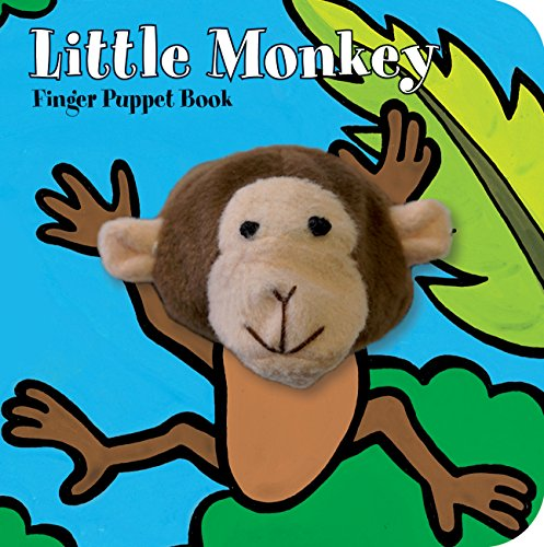 Little Monkey: Finger Puppet Book (Little Finger Puppet Board)