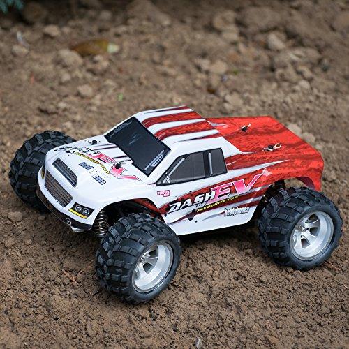 efaso WL Toys A979-B - schneller RC Monstertruck 70 km/h schnell, wendig, voll digital proportional - 2.4 GHz RC Auto mit Allradantrieb - Maßstab 1:18, hoher Fun Faktor - 6