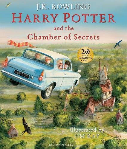 Harry Potter and the Chamber of Secrets: Illustrated Edition (Harry Potter Illustrated Edtn)