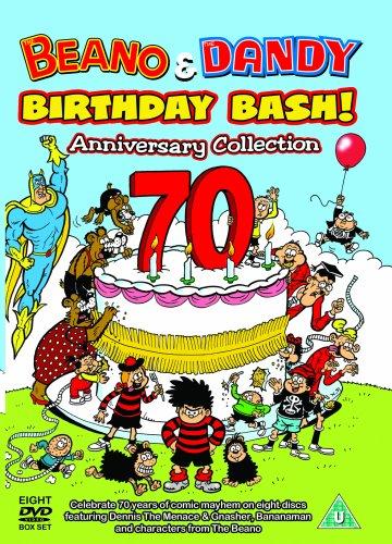 beano-and-dandy-70th-anniversary-birthday-bash-british-tv-animation-dvd-2008-edizione-regno-unito