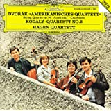 "Dvorák: String Quartet No.12 ""American""; Cypresses / Kodály: String Quartet No.2"