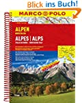 MARCO POLO Reiseatlas Alpen, Nordital...