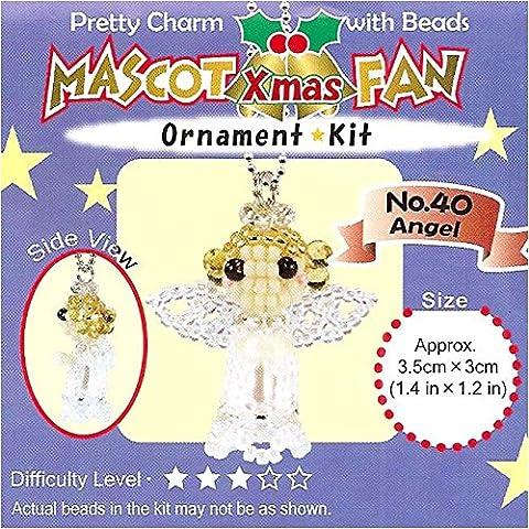 Créez votre propre Miyuki Mascot Charm perle de Noël Ornement kit–Ange