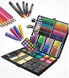 Art Set, 288Stück Profi Kinder Farbe Pencil Sketch Künstler Gemälde Art Kit mit Box, Lernen Stationery Geschenke
