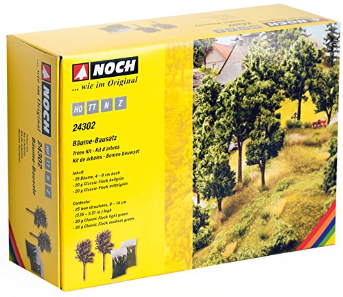 NOCH 24302 - Bäume-Bausatz, 4-8 cm hoch