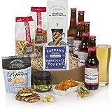 Best Bud Bier-Geschenkörbe - Speisen & Bier-Geschenke für Ihn - Geburtstagsgeschenkkörbe & Geschenke für Herren