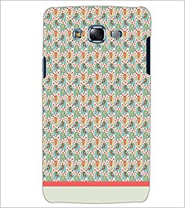 PrintDhaba Elephant pattern D-1599 Back Case Cover for SAMSUNG GALAXY ON 7 (Multi-Coloured)