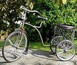 Miniatur-Modell Stifthalter Dreirad Metall Bike Fahrrad 05