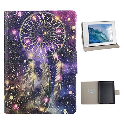 Handyhülle Kindle Paperwhite, Hülle für Kindle Paperwhite 2 Tablet Flip Case Cover, Kindle Paperwhite 3 Handytasche, Moon mood® Fall Etui Tasche für Amazon Kindle Paperwhite 1/2/3 (2012/2013/2014/2015 Version) 6.0 Zoll - Fall Kindle-version 2
