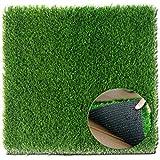 Türmatte mit Kunstrasen, Sauberlaufmatte, wetterfest, Grün 61 x 76 cm - Extrem strapazierfähig ✓ Außen & Innen ✓ Waschbar ✓
