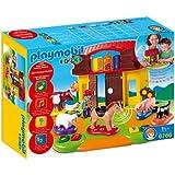 Playmobil - 6766 - Jeu de construction - Ferme interactive 1.2.3