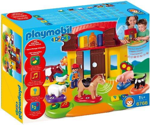 Playmobil 1.2.3 - La Granja Interactiva (626081)