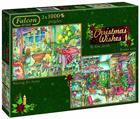 Christmas Wishes - 2 x 1000 Teile