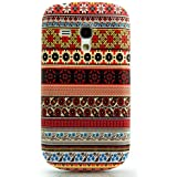 CaseiLike � russische 2031 Stickerei Muster, Snap-on wieder Geh�use f�r Samsung Galaxy S3 Mini i8190 mit Screen Protec