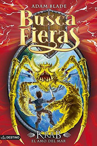 Portada del libro Krab, el amo del mar: Buscafieras 25