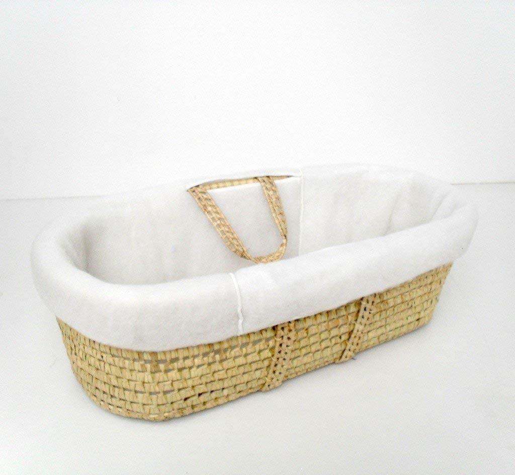 Padding For Moses Baskets (padding only not basket) Kiddie Creations extra padding for you moses basket padding if you want to dress your own basket fits all standard moses baskets 1