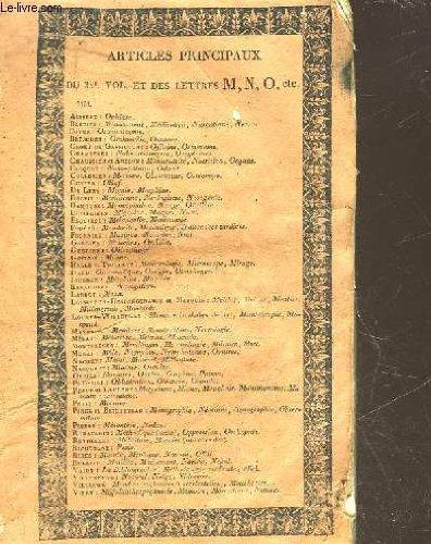 DICTIONNAIRE DES SCIENCES MEDICALES - TOME 32 - DE - MEDIAN - A - MESOTHENAR