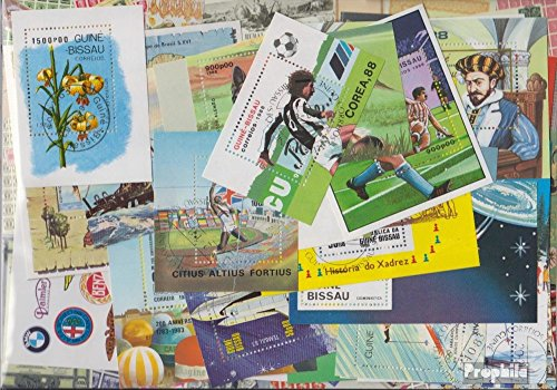 Guinea-Bissau 25 verschiedene Blöcke und Kleinbögen (Briefmarken für Sammler) (Guinea Block)