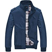 new bapa sitaram Men's Coats Jackets,Men's Autumn Winter Casual Fashion Pure Color Patchwork Jacket Zipper Outwear Coat