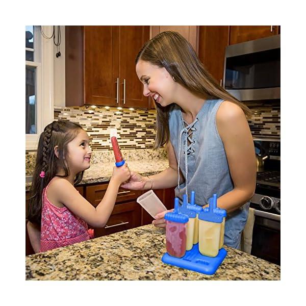 HelpCuisine® Stampi ghiaccioli - Stampi per Gelati Realizzati in plastica di Alta qualità priva di BPA e Approvata dalla… 3 spesavip