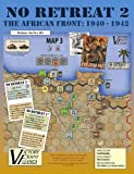 Victory Point Games No Retreat 2 - The African Front: 1940 - 1942 - World War 2 Board Game