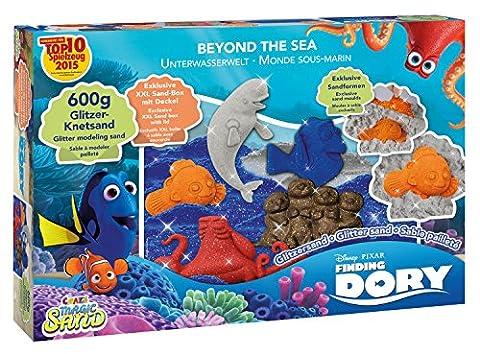 Craze 55275 - Magic Sand Disney Pixar Finding Dory Beyond the Sea Set, 600 g Glitzersand