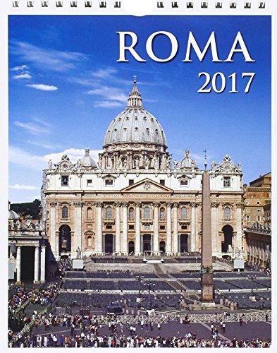 Roma 2017 San Pietro.Calendario 12 mesi 2017