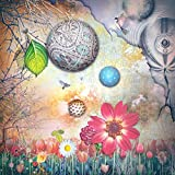 azutura Märchenwald Fototapete Pinke Blumen Tapete Mädchen Schlafzimmer Dekor Erhältlich in 8 Größen Riesig Digital