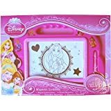 Girls' Pink Disney Princess Magnetic Scribbler with Stampers & Magic Pen