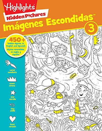 Hidden Pictures: Imágenes Escondidas 3 (Highlights Hidden Pictures / Imagenes Escondidas)