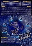 Sternzeichen Jungfrau - Die Horoskop- und Charakter-Karte für Liebe, Partnerschaft, Beruf, Finanzen und Gesundheit: Die psychologische Astrologie von ... und Sternen [DIN A4 - zweiseitig, laminiert]