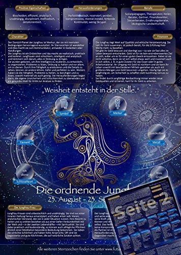 Sternzeichen Jungfrau - Die Horoskop- und Charakter-Karte für Liebe, Partnerschaft, Beruf, Finanzen und Gesundheit: Die psychologische Astrologie von...