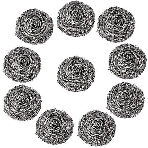 trixes-confezione-da-10-robuste-pagliette-in-acciaio-per-la-casa