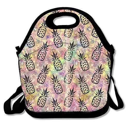 Cupidy Galaxy Ananas Lunchtasche/Lunchbox/Lunchbox/Lunchbox/Kühltasche für Schule, Arbeit, Büro