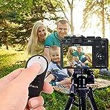 Neuftech RC-6 Infrarot Kabelloser Fernauslöser für Canon 600D EOS 5D Mark II/EOS 7D/EOS 550D/EOS 500D/EOS 450D/60D/650D/700D/6D/100D/450D/5D MARK III Digital SLRS Spiegelreflexkameras - 6