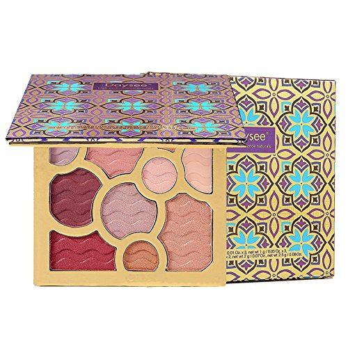 OYOTRIC ROSE GOLDEN Matte Eyeshadows Palette Makeup - Matte + Shimmer 10  Colors -Waterproof Nudes 64da4e470c13