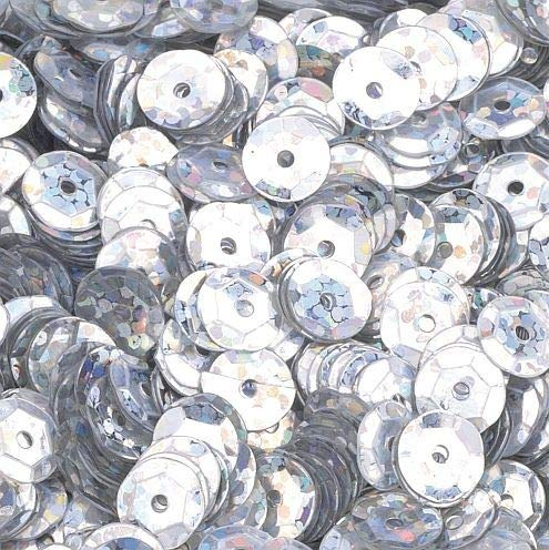 , Silber Hologramm, 6mm, 40g, 4000-piece ()