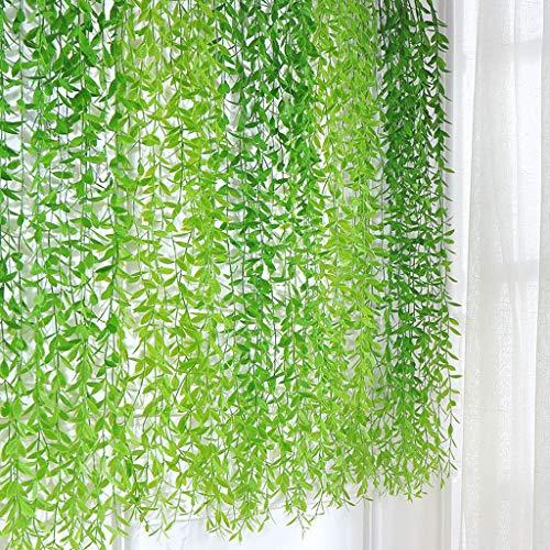 DXJYH Künstlicher Efeu, Gefälschte Blattpflanze Gartenparty Hochzeitsdekoration (Color : Multi-Colored)