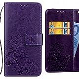 Handyhülle Huawei Ascend G6 Hülle, Ougger Glückliches