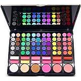 78 colores moda goliton SpritechTM maquillaje profesional sombra de ojos maquillaje rubor delineador combinación de brillo de labios palet