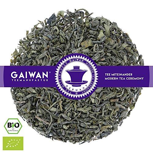 Núm. 1151: Té verde orgánico 'Chun Mee' - hojas sueltas ecológico - 250 g - GAIWAN GERMANY - té verde de la agricultura ecológica en China