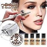 Airbrush make-up Kit | Little Airbrush and 5 Dinair light foundation makeups.