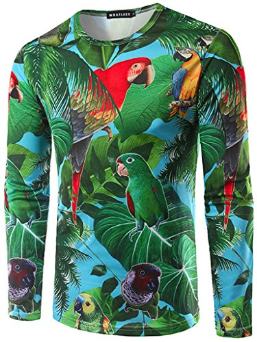 whatlees-mens-t-shirt-with-long-sleeves-3d-printing-parrot-pattern-cute-fashion-fun-comfortable-slim