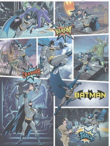 Price comparison product image Dandino BT 9001-1 Wallpaper with Batman Design Multicoloured,  60 x 18 x 18 cm